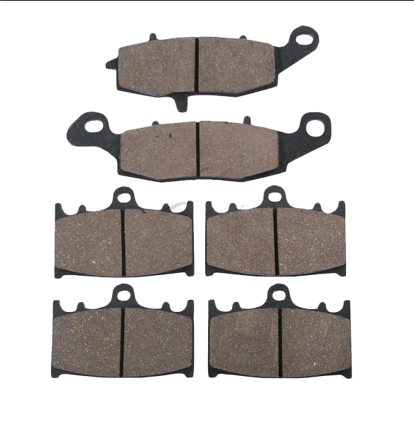 ФОТО Disc Front Rear Brake Pads For KAWASAKI VN 1700 Classic Tourer Custom 2010
