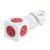 Alta Calidad Allocacoc EE. UU. Adaptador de Extensión de Alimentación Conmutada Socket Socket 5 Salidas + 1.5 M Cable Multi con Doble USB puertos