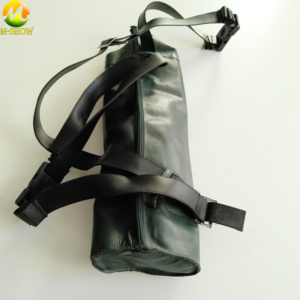 Green Arrow Season 5 Cosplay Men's Halloween Carnival Party Costume Accessories Leather Quiver Green Arrow Quiver
