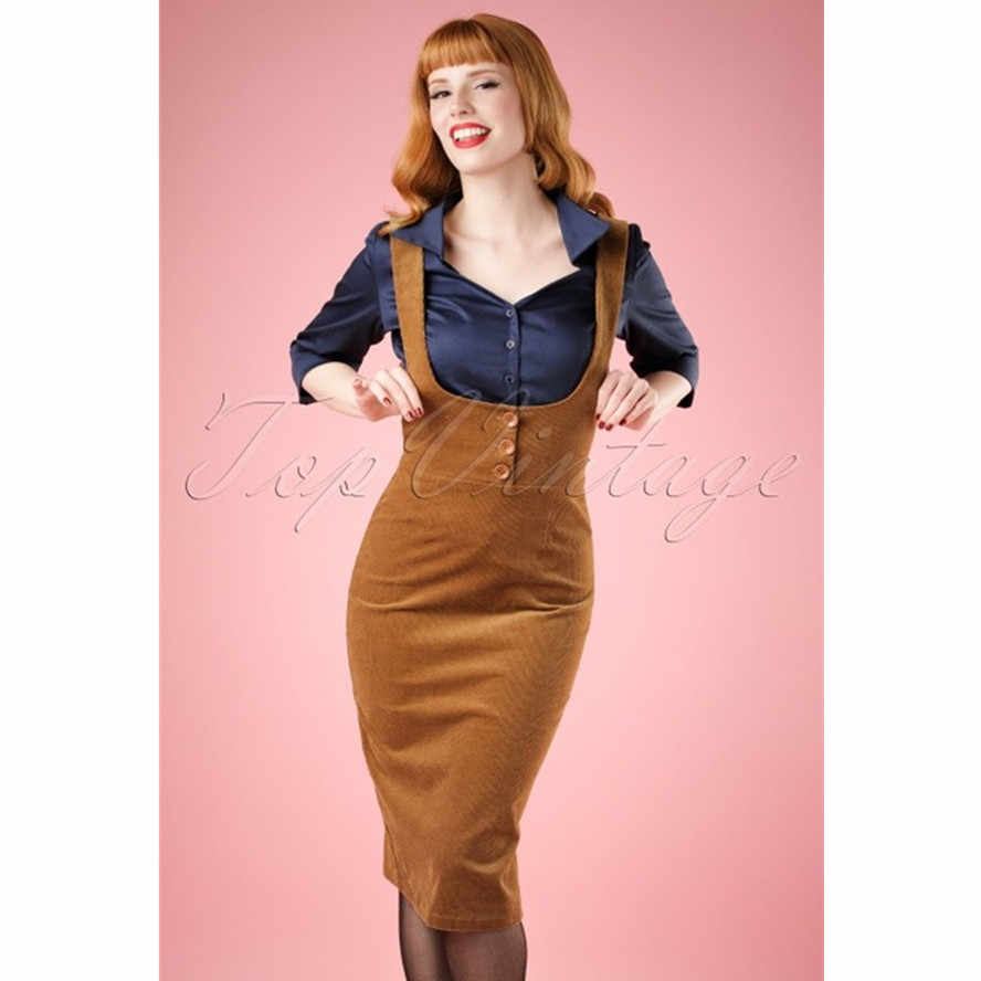 7fd9a094c7e Detail Feedback Questions about 10 vintage 70s corduroy button up wiggle  pencil suspender skirt in brown plus size brace pinup falda de pana jumper  overalls ...