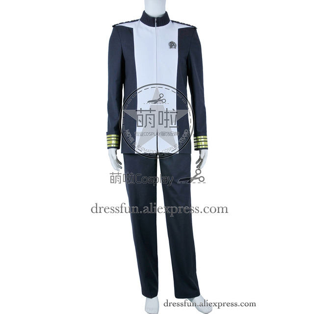 Star Trek Into Darkness Cosplay Admiral Marcus Costume Uniform Outfits Suit Halloween Fashion Party Fast Shipping  sc 1 st  AliExpress.com & Star Trek Into Darkness Cosplay Admiral Marcus Costume Uniform ...