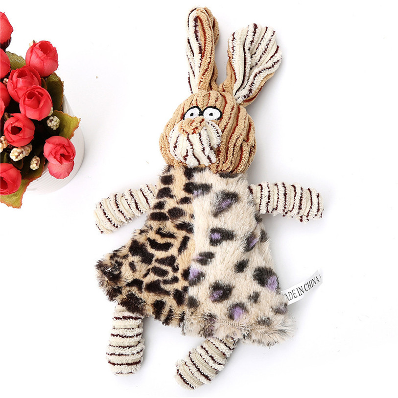 Cute Plush Pet Squeak Toys Animal Shape Sound Dog Toys For Small Large Dogs Cats Puppy Molar Chew Toys Wholesale #F#40AT29 (11)