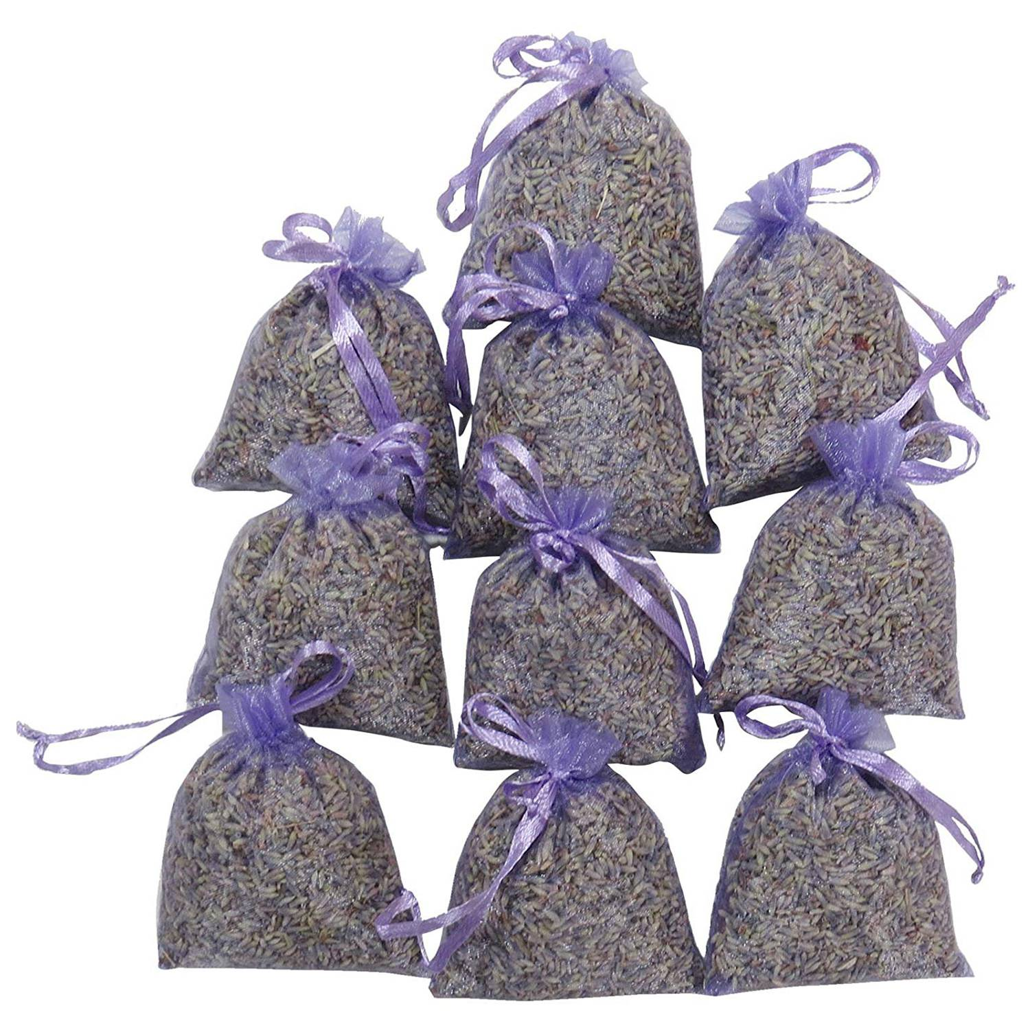 Lavender Packaging 15 Packs | Natural Deodorant, Dried Floral Sachet, Highest Fragrance Lavender Fragrance Sachet