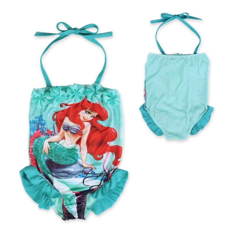 2016 Kid Baby Girls Mermaid Halter One-piece Bathing Swimwear Swimming Costume Tankini Swimsuit Bikini - baby-kids store