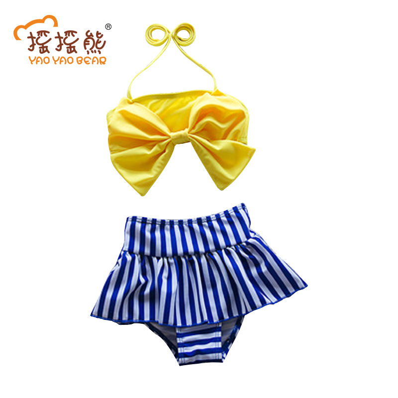 Bathing Trunksi Baby Swimsuits For Girls Two PieceKids Swimwear Suit Childrens Swimwear  ...