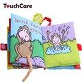 Estilo animais macaco toys aprendizagem brinquedos educacionais do bebê livros de pano do bebê recém-nascido bonito do bebê mobiles ratteles juguetes bebe bebe pará