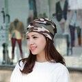 Camuflaje Gorros sombreros de Invierno Femenina señoras sombreros y Gorras primavera otoño Nuevas mujeres de la Marca girls Hip-caliente Skullies Gorros