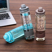 2018 Water Bottle 700/900 Ml Capacity Plastic Sports Drinking Portable Drink Eco-friendly Tritan Material