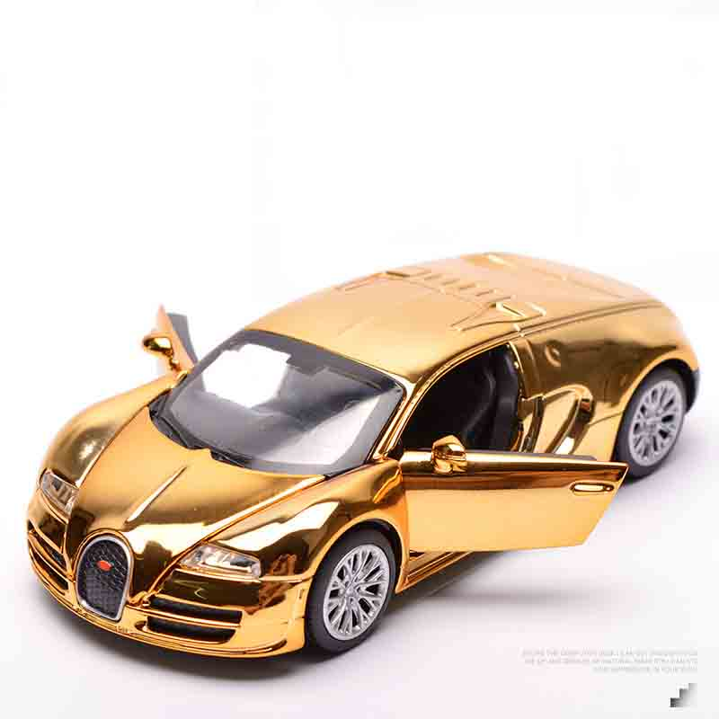 Detail Feedback Questions About Alloy Bugatti Painting Model