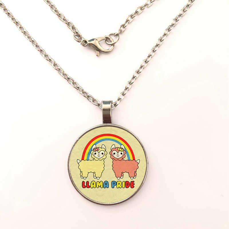 2019 Новое милое ожерелье с подвеской из альпаки и ламы для девочек, Детский комплект ювелирного изделия с изображением овечки, ожерелье ketting