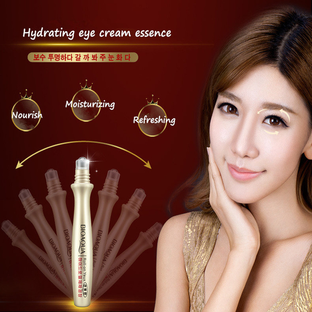 Best Anti-Wrinkle Eye Bag Removal Roll-On Eye Cream For Dark Circle Skin Care