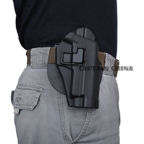 Quick Tactical Right Hand Paddle Pistol Holster for SIG Sauer 220 228 229 P226 Black military tactical drop leg thigh holster lv3 light bearing holster for sig sauer p226 p228 p229