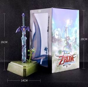 Doll Sword Action-Figure-Toys Link-Master-Sword Skyward Zelda with Box 26cm Christmas-Gift