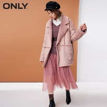 ONLY  womens' winter new lamb cashmere suede cotton jacket |118322514