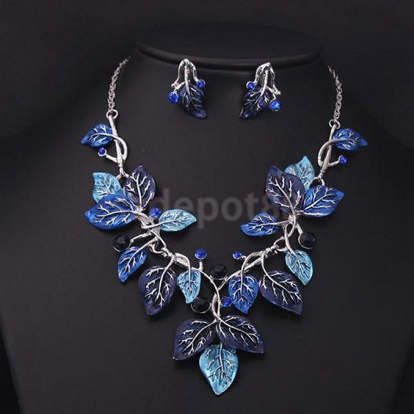 jewelry vine earring set tradesy and i mariell necklace silver