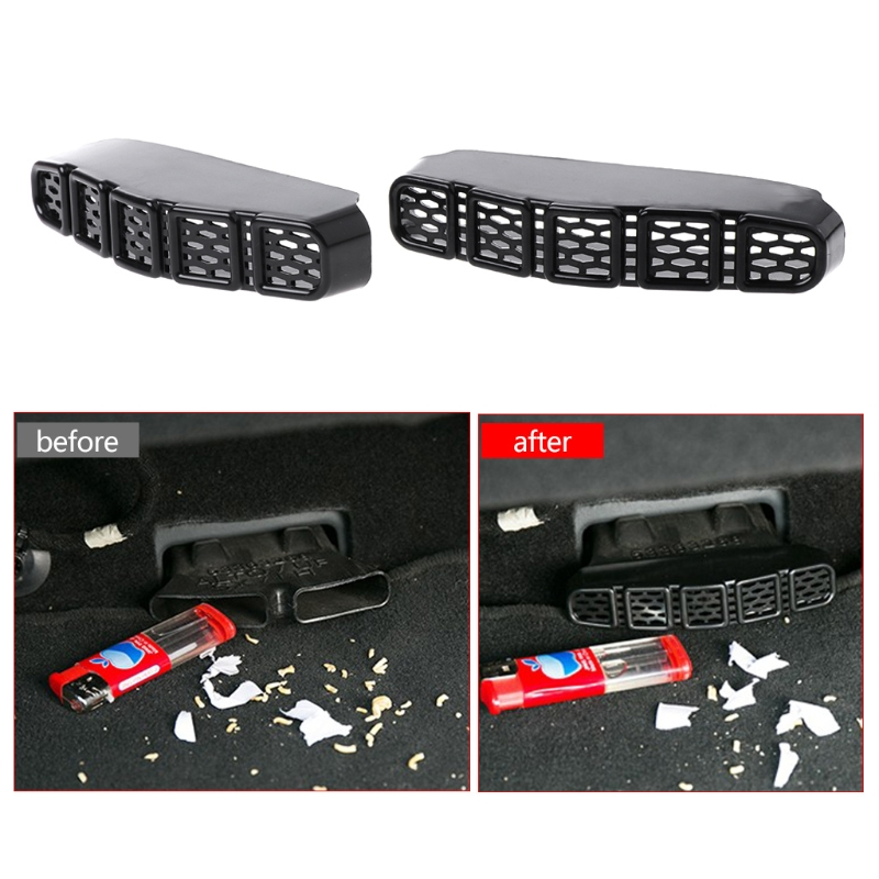 <font><b>2019</b></font> New 2 Pcs Car Rear Seat Air Conditioner Vent Outlet Cover For <font><b>Jeep</b></font> Renegade <font><b>Compass</b></font> image