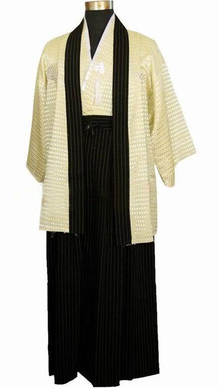 Traditional Yukata   Cosplay Apparel Kimono Japan Man Costume Clothing