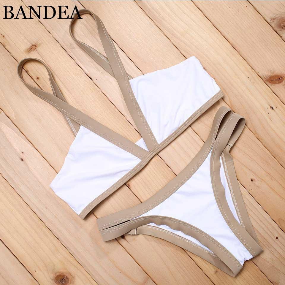 BANDEA New Design Sexy Brazilian Bikinis 2018 Swimwear Women Biquini Push Up Bikinis Bathing Suit maillot de bain femme AD002