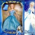 Nueva Disney Cenicienta 11.5 Pulgadas Barbie Girl BRICOLAJE Regalo de Navidad Juguetes para Niños de Regalos Personalizados con la Caja