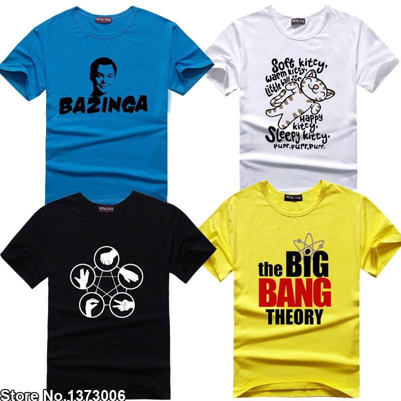 0a8acef9833 The Big Bang Theory Fan T-shirt Sheldon Cooper T Shirts Science Geek Tee  Tshirt Men Women Unisex TBBT