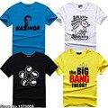 The Big Bang Theory Sheldon Cooper de ar de ciência TBBT Geek T t-shirt das mulheres dos homens Unisex