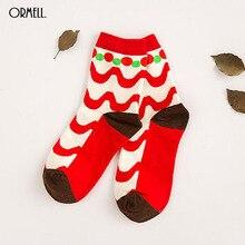 ORMELL Socks Women New Cute Ball Wave Lovely Candy Color Cotton Women's Socks Girls Sock Slippers