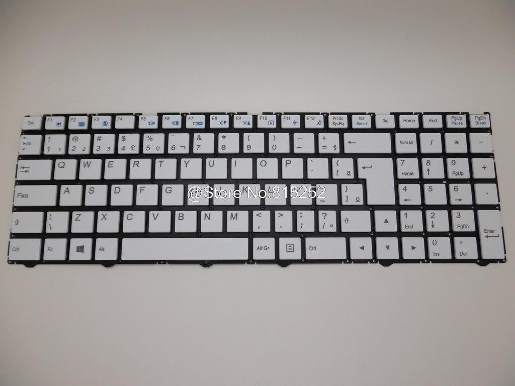 Laptop Keyboard For Gigabyte P55G V5 P55W R7 P55W V4 V5 V6 V7 P55W V6-PC3D Belgium BE Brazil BR Norwegian  NOR Spain SP Swiss SW laptop keyboard for acer silver without frame swiss g sw v 121646ck2 sw aezqss00110