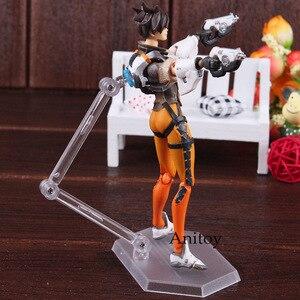 Image 5 - Figma 352 Game Karakter Tracer Figuur Pvc Action Figure Joint Beweegbare Speelgoed Figma Tracer Pop Beeldjes