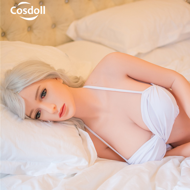 Cosdoll 148cm Realistic TPE Silicone Sex Dolls White Skin Sexy Toys for Men Masturbation