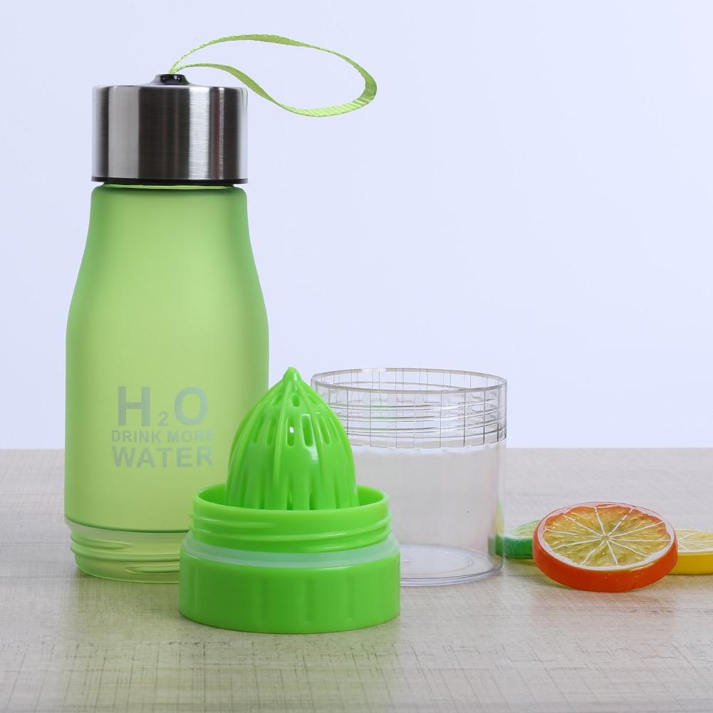 Lemon Juice Fruit Water Bottle Infuser 700 Ml h2o Water Bottles Drinkware For Outdoor Sport Portable Sports Shaker Bottle Gift