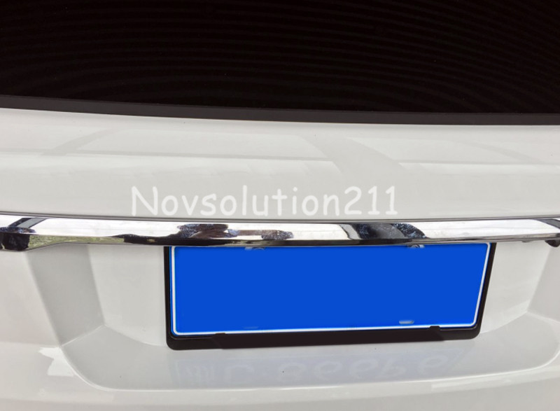 2014-2016 Rear Trunk Lid Cover Moulding Trim For Land Rover Range Rover Sport for 2013 2014 2015 land evoque high quality rear trunk lid cover trim