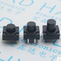 Водонепроницаемый 12*12*8 мм свет сенсорный выключатель 4 футов Micro переключатели Вертикальная медь стоимость