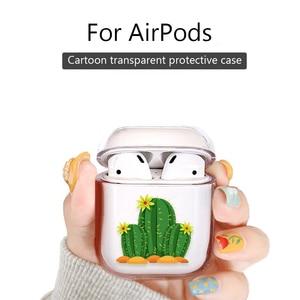 Image 3 - Dessin animé étui pour écouteurs pour Airpods 2 PC mignon housse pour Apple Airpods 2 AirPods 1 pochette transparente Bluetooth écouteurs accessoires
