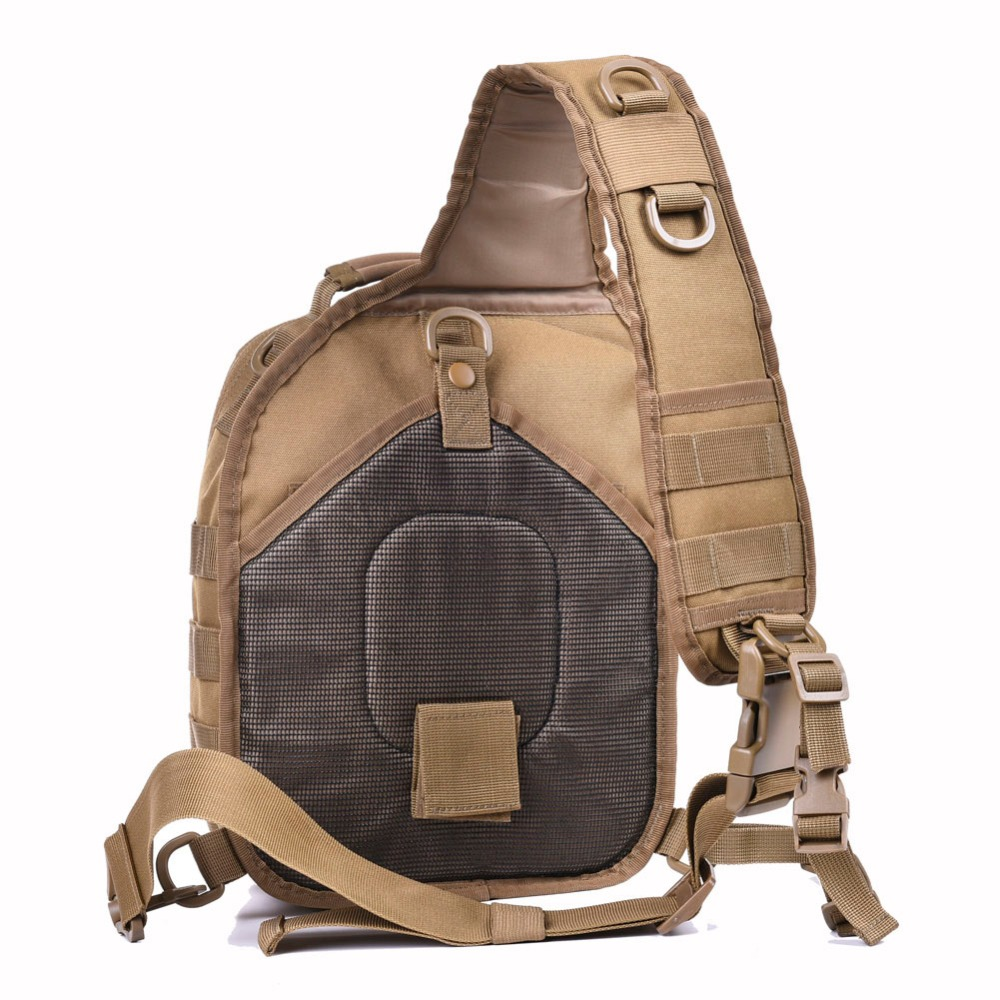 cb0fd8bbf18 REEBOW TACTICAL Rover Shoulder Sling Bag Pack Military Backpack Molle  Assault Range Bag Everyday Carry Diaper Day Pack Small