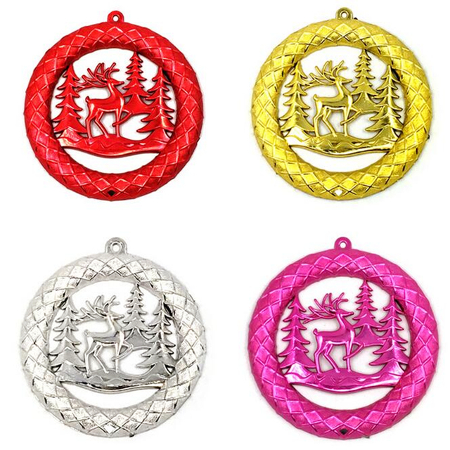 US $1.03 48% OFF|Aliexpress.com : Buy New Fashion Christmas decorating  supplies five colors Christmas elk wreath ornaments 10g christmas tree  hanging ...