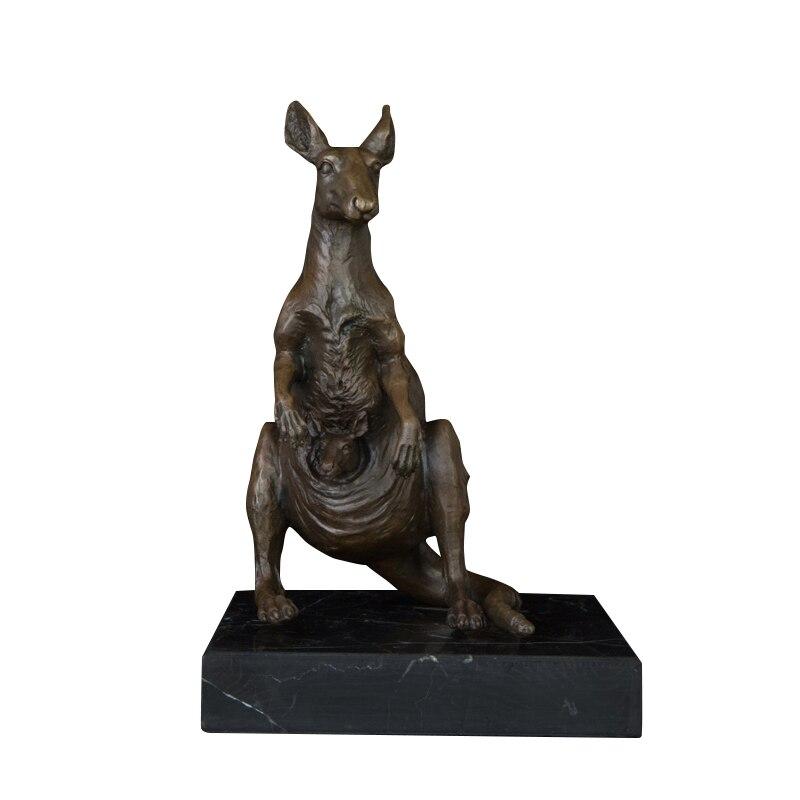 Бронзовый кенгуру арт Статуэтка скульптура для продажи