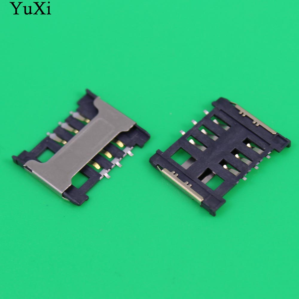 YuXi Replacement 16.5*13.5*1.6 sim card socket slot holder for lenovo A388T xiaomi 2 and other mobile and tablet sd micro usb