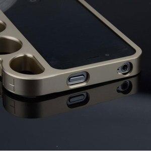 Image 3 - إطار حماية من سبائك الألومنيوم 100% لهواتف iPhone 5 5s ، خواتم لورد عصرية ، مقابض للأصابع ، غلاف لهاتف iPhone 5G SE