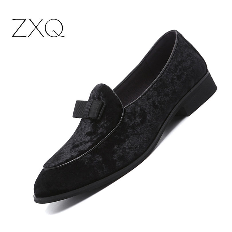 Velvet Loafers Men Shoes Men's Flats Slip-On Driving Shoes Large Size 38-48 Soft Comfortable Designer Loafers Moccasins