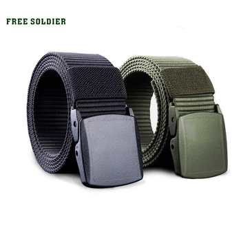 FREE SOLDIER outdoor multi-functional tactical belt breathable wear canvas belt casual special training nylon belt 1
