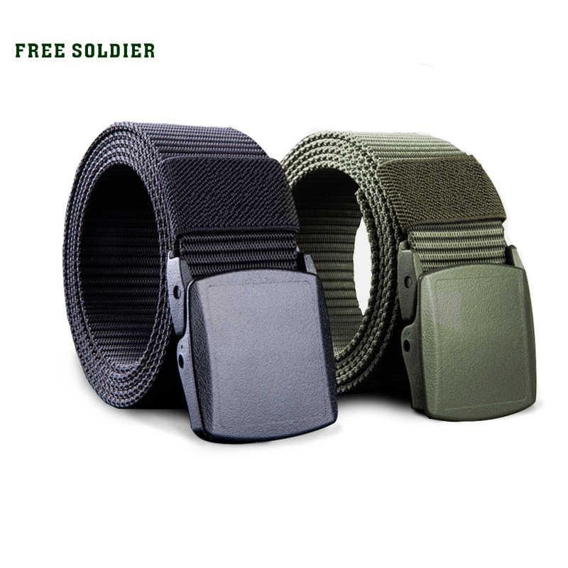 Free Soldier для активного отдыха мульти-функциональные Тактические пояса дышащая и ноская обувь ремень из плотной ткани Повседневная Специальный тренировочный нейлоновый пояс