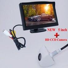 Лучшая цена лучшая цена HD сзади автомобиля парковочная камера + монитор вид сзади АВТОМОБИЛЯ 5 «с ЖК-экран формы завод