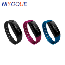 Niyoque V07 Bluetooth Smart группа крови Давление браслет сердечного ритма фитнес трекер Шагомер Браслет для iOS телефона Android