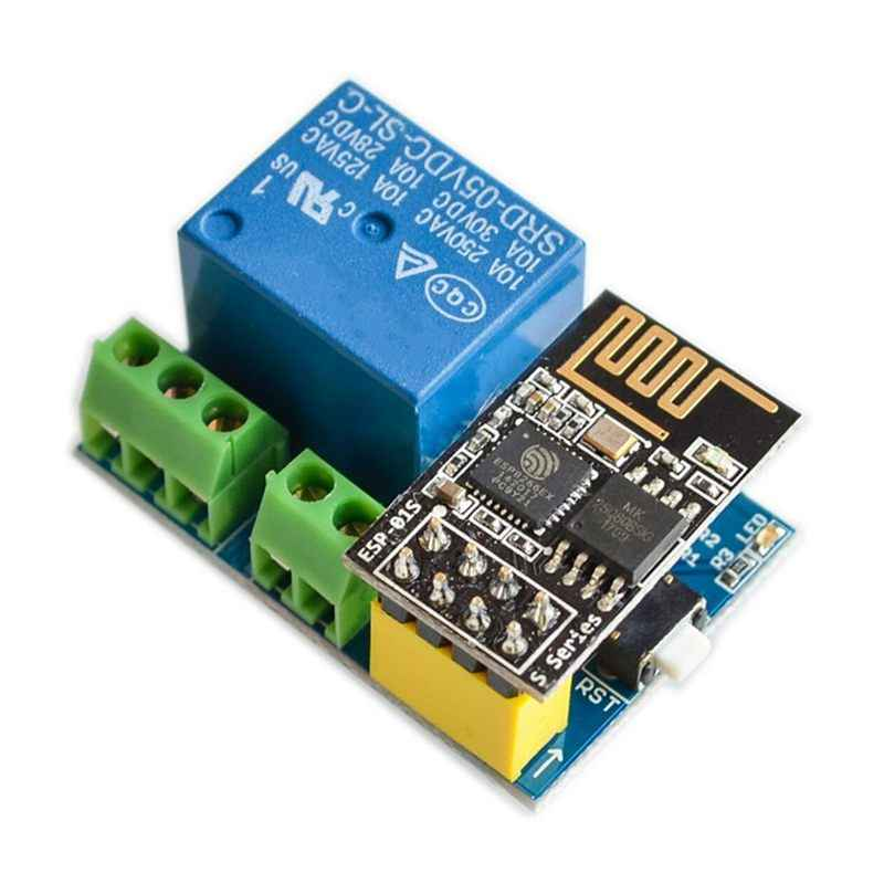 Esp8266 ESP-01S 5 v wifi 릴레이 모듈 arduino 전화 app esp01s 무선 wifi 모듈을위한 스마트 홈 원격 제어 스위치