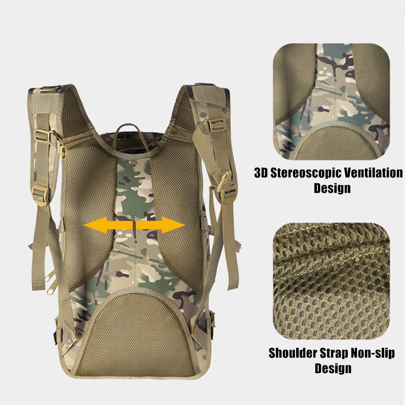 36L extérieur espadon sac à dos tactique Camouflage chasse alpinisme sac à dos Camouflage armée ventilateur sac - 4