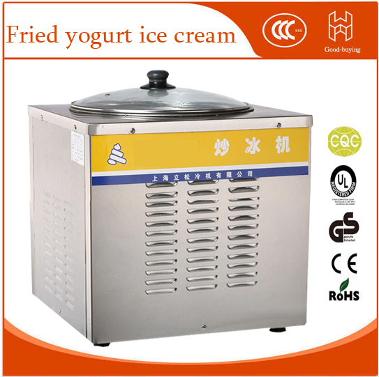 Eve Commercial Ice fried machine Double pan Ice cream Frying Machine Yogurt fried machine Fried yogurt ice cream double pressure ice frying machine double pan fried ice cream machine
