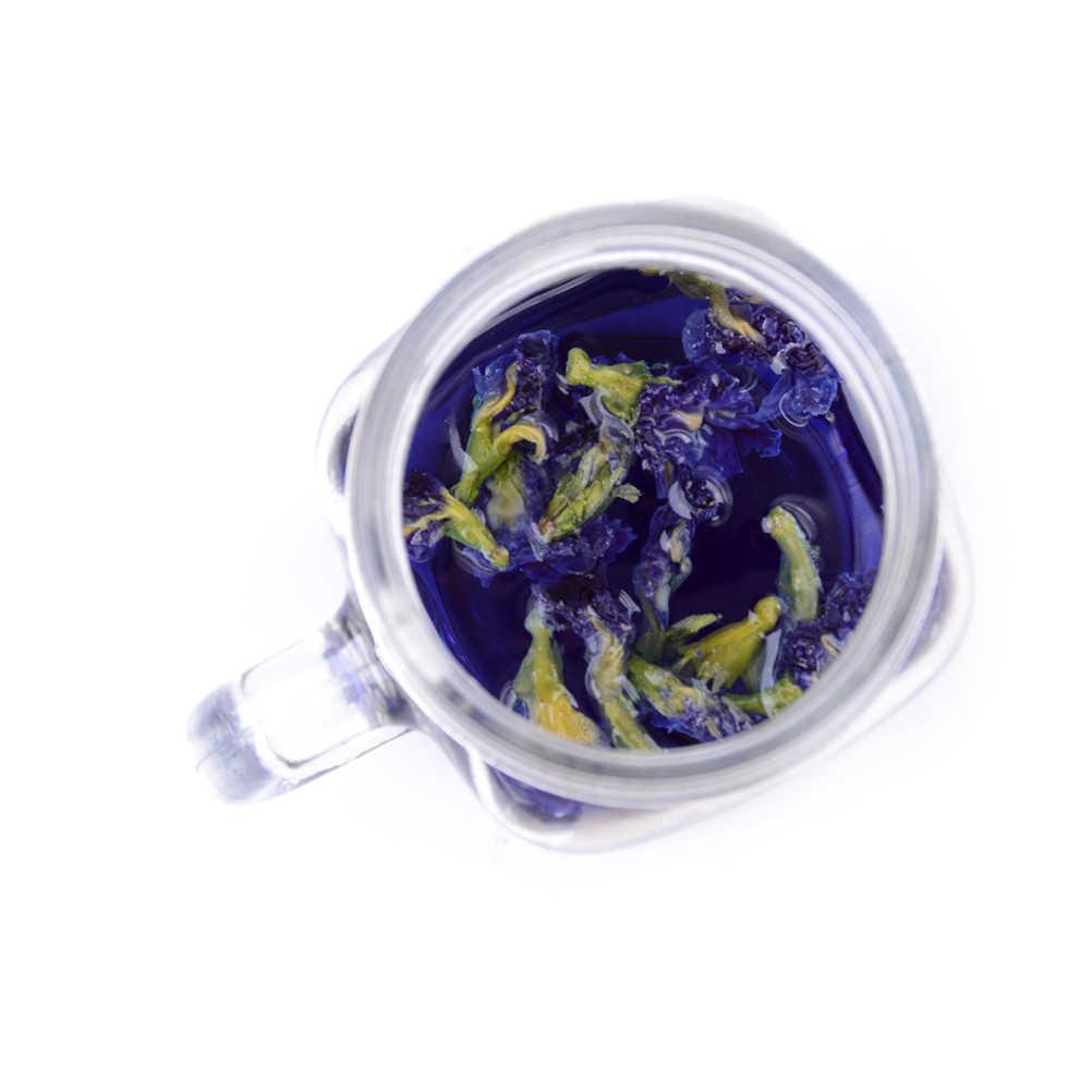 1 шт. чай терна. Чай в горох голубой бабочки. Сушеный цветок гороха Кордофан. Таиланд. Высокое качество