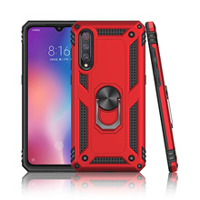 Armor Resistant Bracket Shock Absorption TPU+PC 360° Rotating Case For XiaoMi Mi 9 Shock Absorption цены