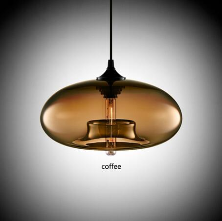 Nordic Modern Hanging Lamp Body Color: coffee Ships From: Spain