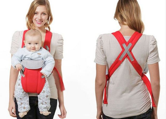 Front Pack Cotton Baby Carrier Infant Newborn Baby Breast Feeding